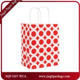 Bébé Pâques Shopping Sacs en papier sacs Sacs porte-bagages Sacs cadeau coeurs