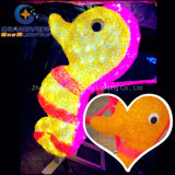 Cartoon Sea Horse LED Christmas New Year Light