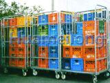 Foldableスーパーマーケット及び洗濯の倉庫ロール容器