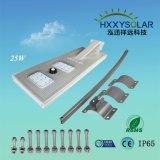 Der Qualitäts-Bewegungs-Fühler-integriertes einteiliges Solarstraßenlaterne25w
