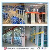 La Chine a conçu le présentoir lourd de rangée de la mezzanine 3