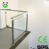 Braçadeira de vidro quadrado/ freio de vidro/ Montagem do Corrimão