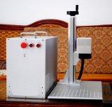 Fibra de láser 20W 30W 50W portátil máquina de la marca grabado