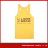 Progettare le magliette per il cliente Sleeveless del V-Collo per lo sport (R45)