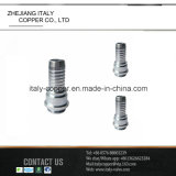 SAE Steelmale carbone Adaptateur/raccord de flexible (AV9025)