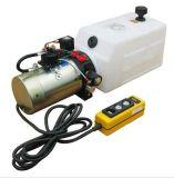élément à simple effet de l'énergie 12VDC hydraulique, remorque de vidage mémoire, levage