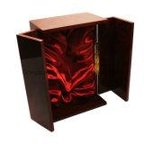 Rectángulo de madera del vino del diseño especial de la alta calidad
