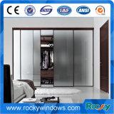 Doppelte Glaskundenspezifische Aluminiumschiebetüren, Schwingen-Türen, Falz-Türen, Flügelfenster-Türen
