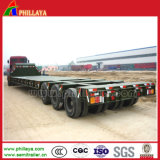 100-150 Tonnes Multi Lines-Axles Lowbed Heavy Duty Trailer