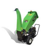 Gasolina pequena do consumo de combustível do uso da silvicultura do cavalo-força 15 máquina Chipper de madeira da baixa