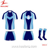 Uniforme novo do rugby de Jersey do rugby do Sublimation do projeto