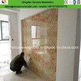 Folha de mármore artificial do PVC que faz o PVC recicl Machine/100%