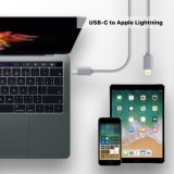 USB-C al cable del relámpago para el iPad más FAVORABLE nuevo MacBook del iPhone 7 de Apple