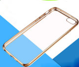 Arrival novo Design Ultra-Thin Electroplating Soft TPU Caso para o iPhone 6 6s Cell Phone Cover Caso