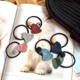 모자 POM Poms 공 고무줄 Hairband가 6개의 색깔에 의하여 뜨개질을 했다