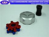 Peça de alumínio do CNC dos prendedores da cor do preço do competidor
