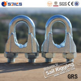 Galv DIN741 Clip de corde à fil malléable