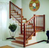 Новая конструкция прямой лестницы твердые деревянные лестницы