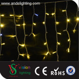 2 * 0.6m Cabo de borracha Ao ar livre Natal Icicle String Light