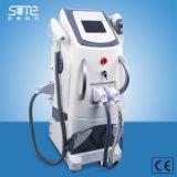 Opt a máquina da remoção da pigmentação do tatuagem do laser do RF do rejuvenescimento da pele da remoção do cabelo de Shr