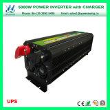 UPS 5000W outre de l'inverseur à haute fréquence de pouvoir de chargeur de réseau (QW-M5000UPS)