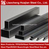pipe en acier rectangulaire noire de 50mmx30mm avec le prix raisonnable