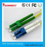 LC/UPC-LC/APC Sm Dúplex Cable de conexión de fibra óptica