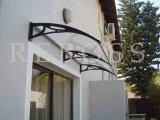 Pabellón de los toldos del policarbonato/abrigo de los Gazebos/para Windows y la azotea de la puerta (Y2400A-L)