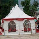 5*5m Luxury Pagoda Parte tenda com moldura em alumínio e PVC para o exterior