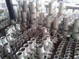 Plomberie en acier inoxydable Fitting Tee droite de raccords de tuyauterie