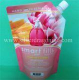 Kundenspezifischer Farben-und Form-Fastfood- Beutel-Beutel mit Tülle
