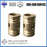 China de latón de OEM/metal/aluminio CNC 5 EJES DE GIRO/fresado/mecanizado parte