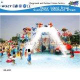 De opgewekte Functionele Dia van het Park van het Water van het Huis van het Water (M11-04501)