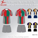 Het Rugby Jersey van de Goede van het Ontwerp van Healong van de Sportkleding Mensen van de Sublimatie