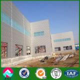 Gruppo di lavoro strutturale d'acciaio industriale prefabbricato di basso costo della Cina