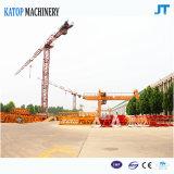 Vorbildliche Tc5012 6t Eingabe-toplesser Turmkran vom China-Lieferanten