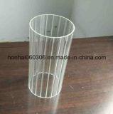 Tube à cylindre en verre borosilicate Tube Light Lamp Shade