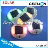 Lumière clignotante de 8PCS DEL de plots réflectorisés de goujon solaire de route