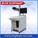 Gedruckte Schaltkarte Laser-Markierungs-Maschine, Markierungs-Maschine Laser-YAG-50, bewegliche Laser-Gravierfräsmaschine