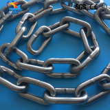 高品質によって溶接されるステンレス鋼の持ち上がるリンク・チェーン