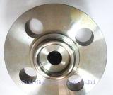 楕円形のタイプリングの接合箇所のガスケット