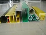 Pipe ronde et carrée de profil de FRP Pultruded, tube, barre
