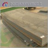 Plaque de Corten d'altération superficielle par les agents atmosphériques de la pente C de Corten a/Corten B/A588
