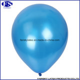 Blau Gewohnheit personifizierte Perle Inflatable Rubber Latex-Freiluftballon