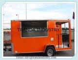 Aliments Mobile Van avec de la pluie et de certificat CE d'auvent