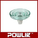 Tipo de nevoeiro Isolador de vidro para a linha de alta tensão (LXHP-100)