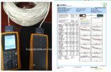 La gelatina ha riempito 4 accoppiamenti cavo dell'audio del connettore di cavo di comunicazione di cavo di dati del cavo del cavo/calcolatore di collegare di goccia di UTP Cat5e 24AWG