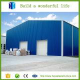 Heya fabrizierte Stahlblech-Zelle-industriellen Lager-Entwurf vor