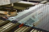 Chuveiro de segurança claras o vidro temperado com borda polida e água Jat Cortar