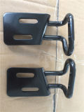 Qualitäts-Metall stempelte Teile, mit schwarzes Puder-Beschichtung-Ende